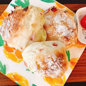 【募集】1月18日コトカフェ講座「米粉ハムチーズパン」