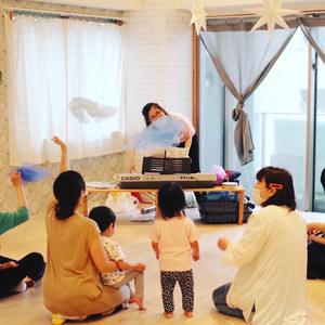 7月29日(水)kotocafe 0歳からの親子で楽しめるリトミック