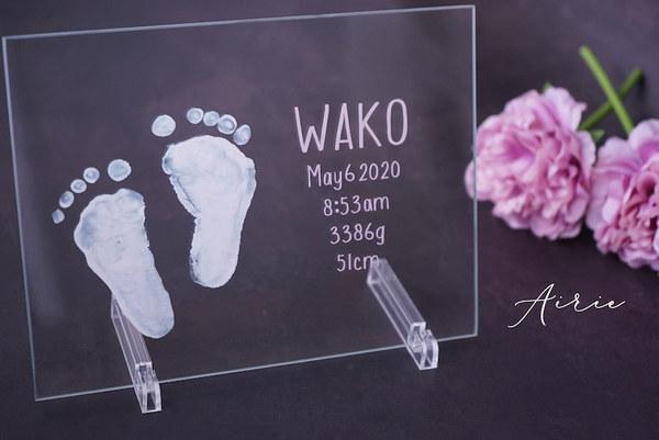 府中 多摩 <New born foot Art> 出張サービス 新生児の出生記念プレート♡