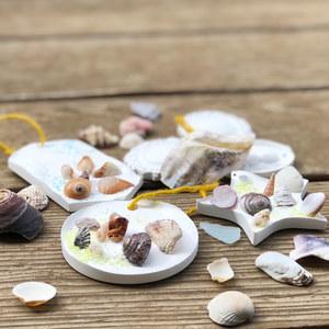 貝殻のアロマストーン づくり 9/14 @kotocafe