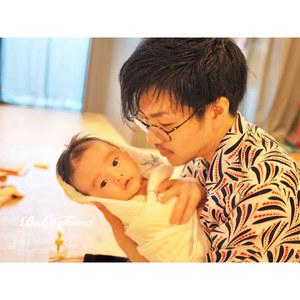 11月14日(土)【家族の思い出♡】パパのベビーマッサージ♡